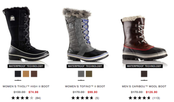 Sorel.com: Up to 50% Off Select Winter Boots = Great Deals on Sorel Boots