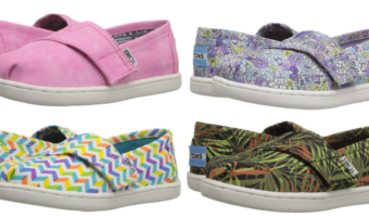 Up to 75% Off TOMS Shoes + Free Shipping!