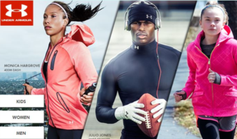 Under Armour: Pieces for the Family Starting at $9.99 Each
