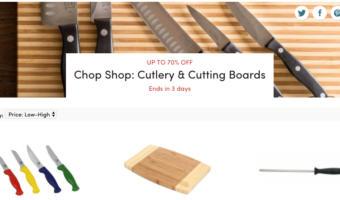 Wayfair.com: Save Up to 70% Off Cutlery & Cutting Boards!