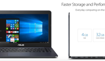 ASUS Laptop with 14″ Screen, Only $199