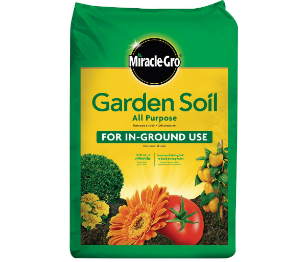 miracle gro garden soil only 2 per bag