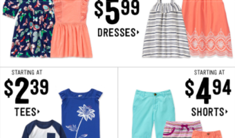 Crazy8.com: Shirts, Dresses, Pants Starting at Just $2.39 Plus Free Shipping