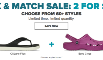 Crocs.com: 2 for $35 Crocs Shoes (Loads of Styles Available!)