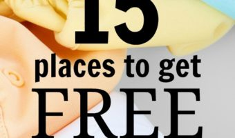 15 Places to Get FREE Baby Samples