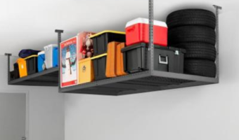 HomeDepot.com: Garage Ceiling Storage Rack ONLY $109 and MORE!