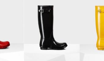 Hunter Women's Rain Boots, Only $100 Shipped – WOW!