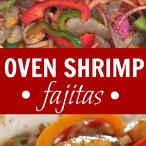Mexican Shrimp Fajitas Recipe (Great Easy Dinner!)