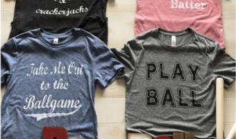Vintage Baseball and Softball Tees Ship for $17.98!