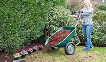 Yard Rover Wheelbarrow and Yard Cart Just $73.79!