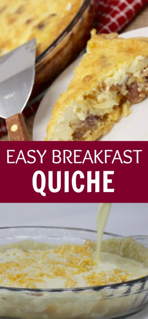 Looking For Breakfast Quiche Recipes Easy Bacon Cheesy Goodness In This Simple