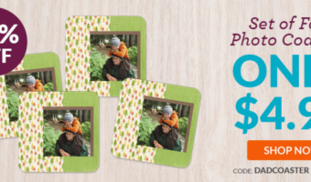 Photo Coasters Ship for ONLY $2.75 Each (Great Gift Idea!)