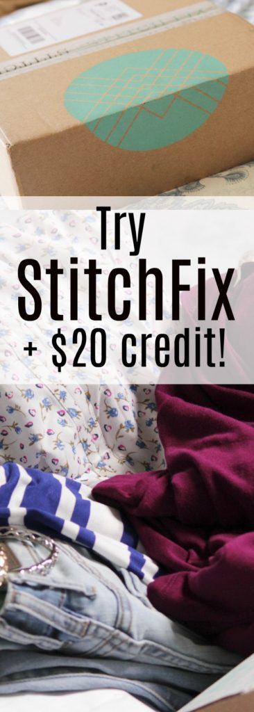 "Get clothes for women, summer style updates with a FREE $20 StitchFix credit when you try it out. Read why I love my StitchFix ""fix"". They're such a treat!"