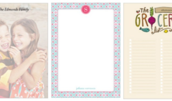 FREE Custom Notepad from Shutterfly!