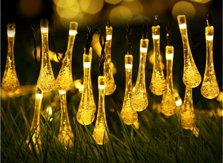 Solar String Lights Outdoor Reviews : Outdoor Solar Powered String Lights, ONLY USD 7.99!