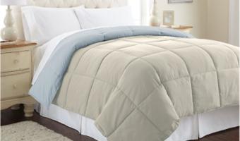 goose down alternative comforters
