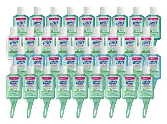 Purell Travel Sized Jelly Wrap Bottles