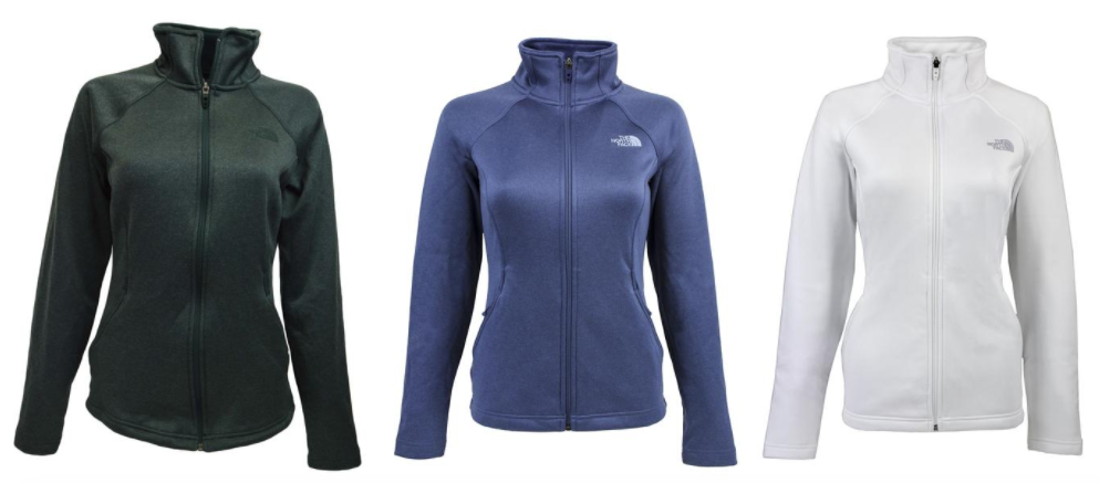 c5d3cef60 The North Face Women's Agave Full Zip Jacket just $42 (Reg. $99!) -
