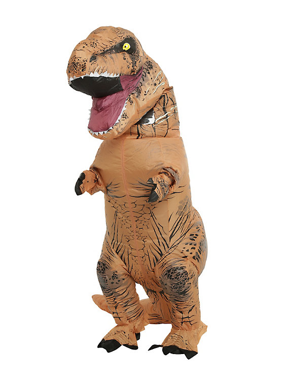 Adult Inflatable T Rex Costume At A Great Price