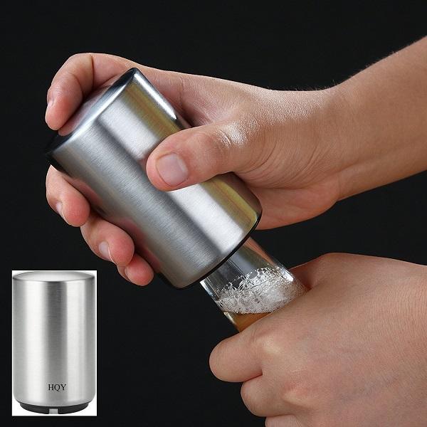 automatic beer bottle opener at half off. Black Bedroom Furniture Sets. Home Design Ideas