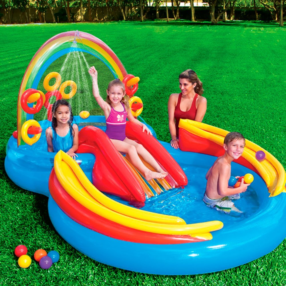 Intex Rainbow Ring Inflatable Play Center At A Low Price