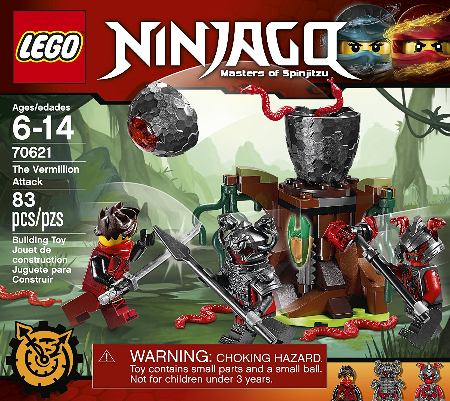 Lego Ninjago The Vermillion Attack At A Great Price