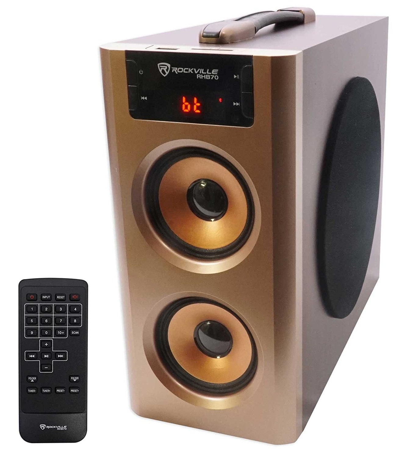 Low Price For Rockville Home Theater Compact Bluetooth Speaker System