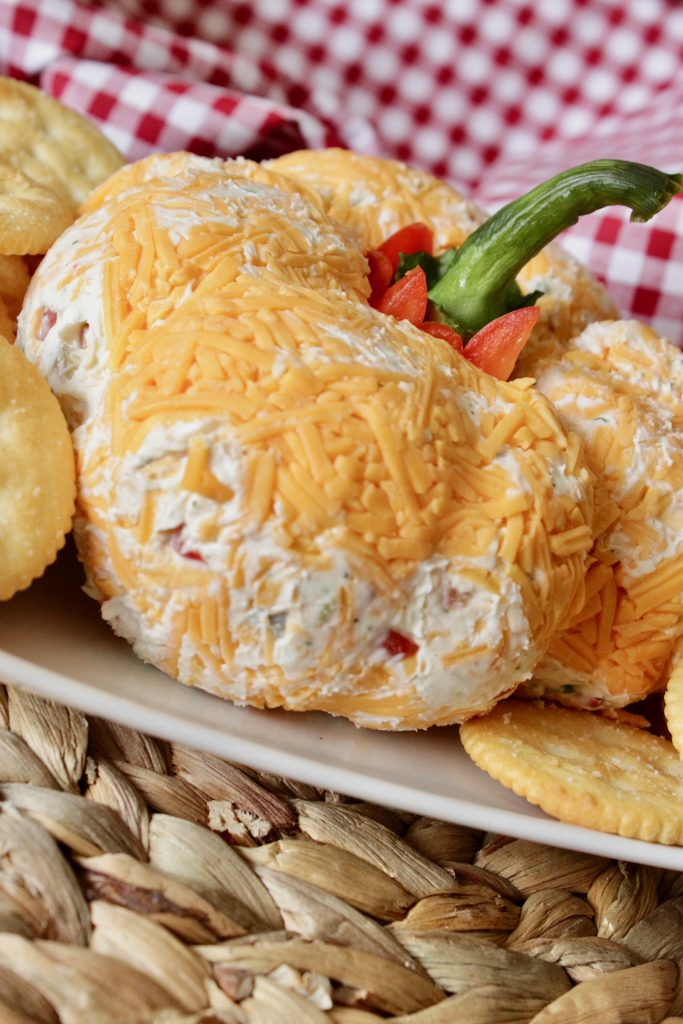 Is this cheese ball recipe not the cutest thing?! Need to serve for a party!