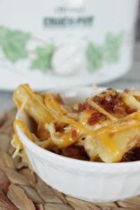 crockpot crack chicken pasta