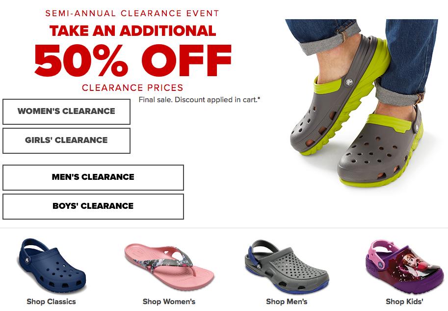 HOT* Crocs Shoe Sale | Crocs Shoes