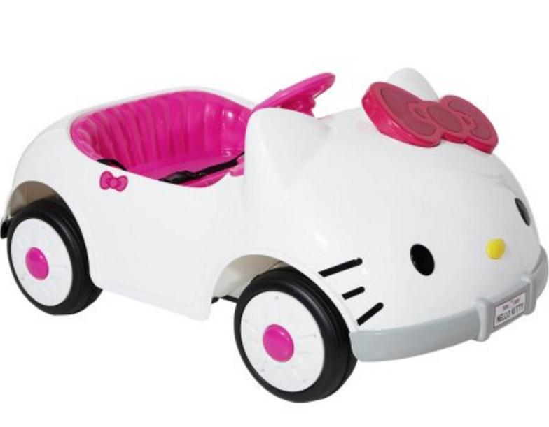 Car Hello Kitty Games