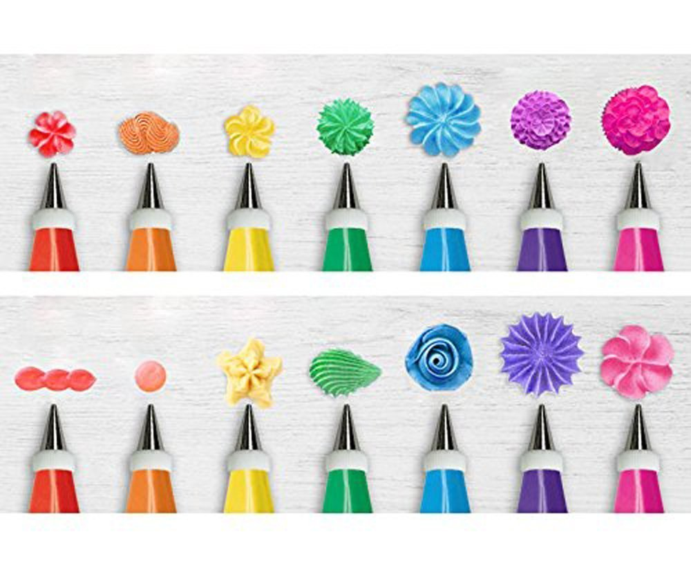 28 piece cake decoration kit at half off for Decorating advice