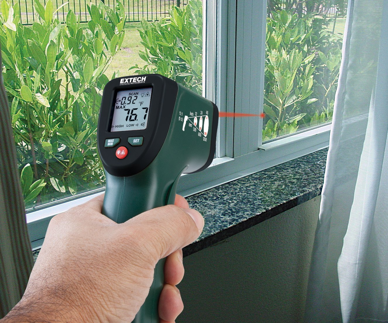 Extech Infrared Thermometer At The Lowest Price