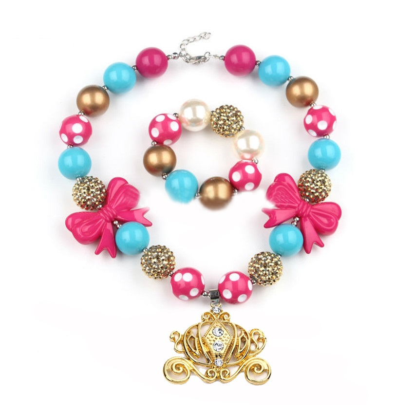 s chunky bubblegum necklace sets at great low prices