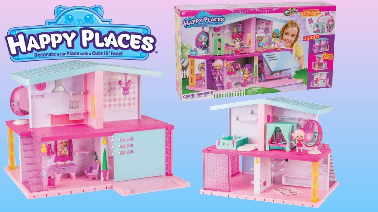 Happy Places Shopkins Mansion At A Great Price