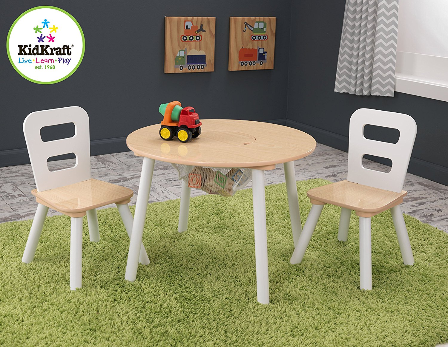 Kidkraft Round Table And 2 Chair Set At A Great Price