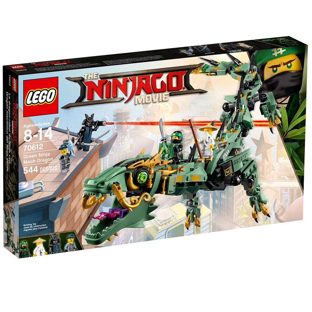 Great Price On LEGO Ninjago Movie Green Ninja Mech Dragon