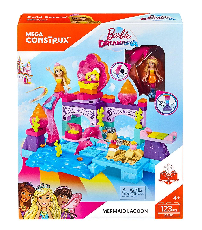 Great Price On Mega Construx Barbie Mermaid Lagoon