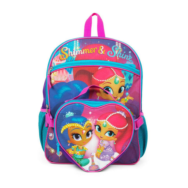 Shimmer And Shine Backpack With Lunch Kit At A Great Price