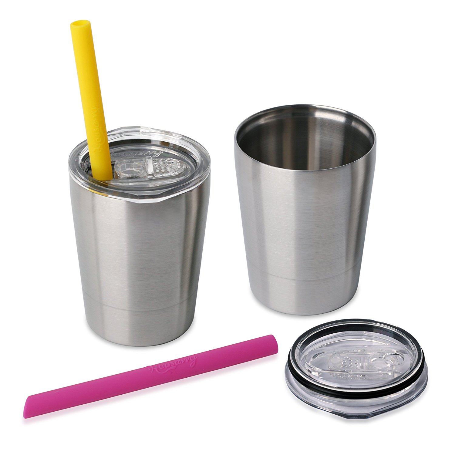 Coupon Savings For Set Of 2 Stainless Steel Sippy Cups