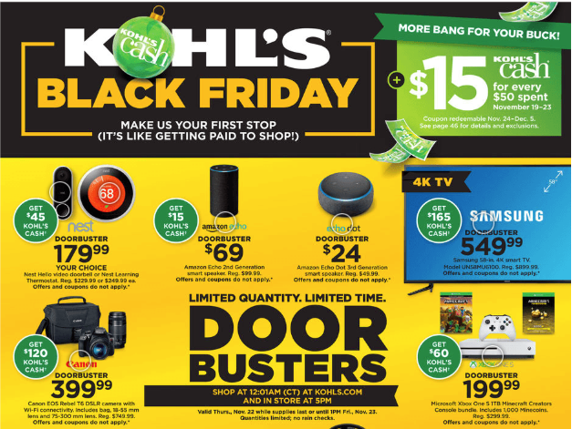 Kohl S Black Friday Ad Scan Available