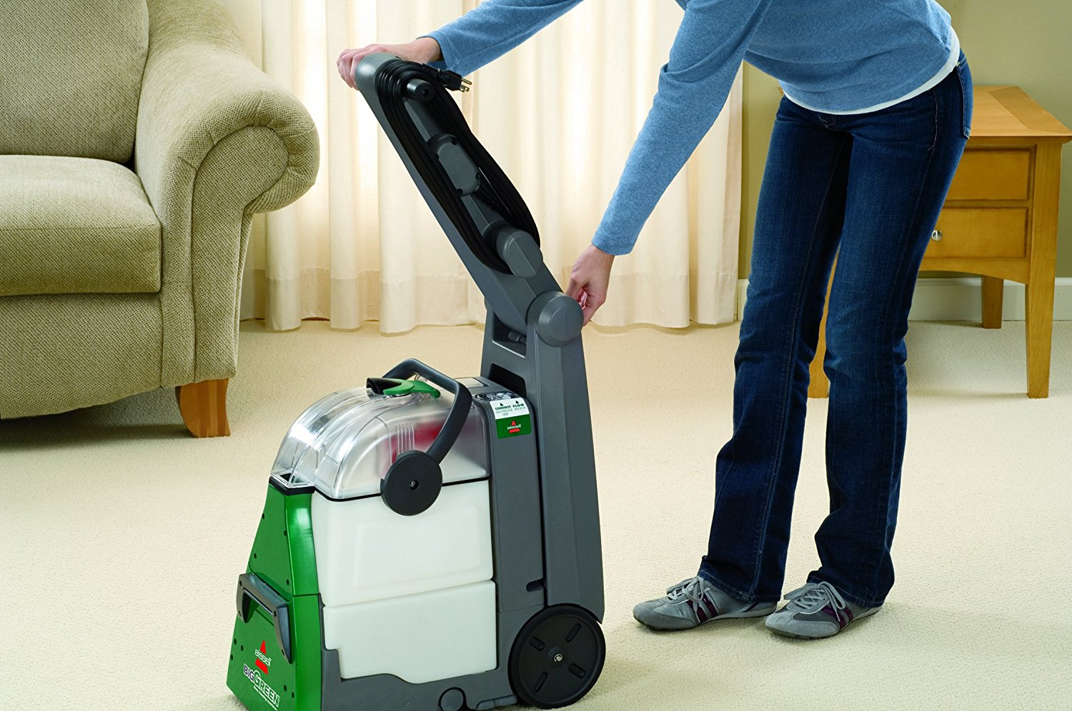 Save On Bissell Big Green Professional Carpet Cleaner