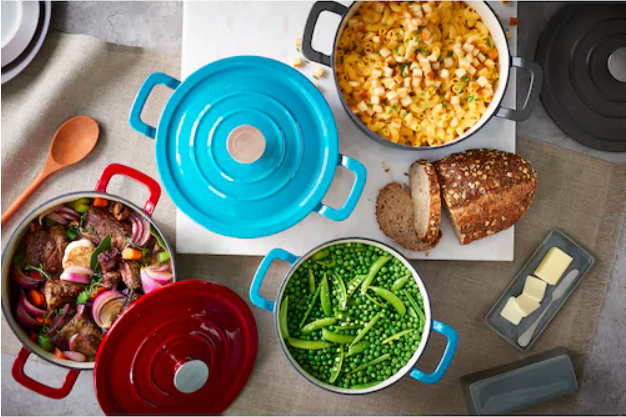 Food Network 3.5-Quart Dutch Ovens ONLY $7.99 Each!