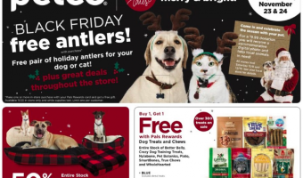 PetSmart 2018 Black Friday Deals