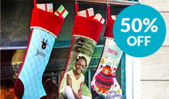 Personalized Photo Stockings ONLY $14.99