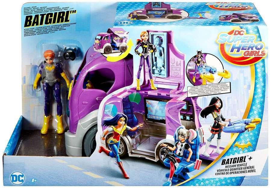 DC Super Hero Girls Batgirl & Vehicle Playset $15.99 (reg ...