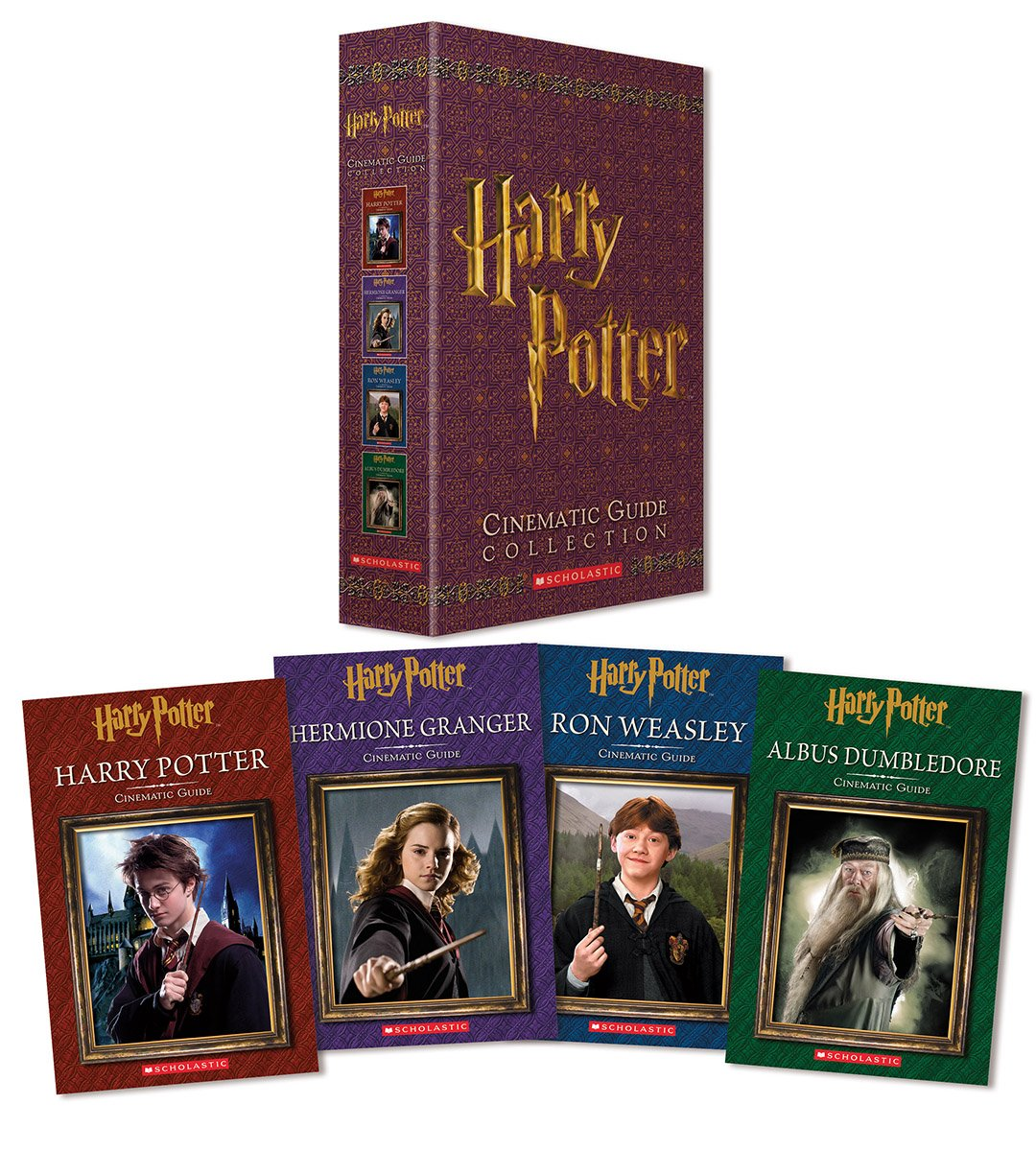 Harry Potter Book Guide : Harry potter cinematic guide collection reg