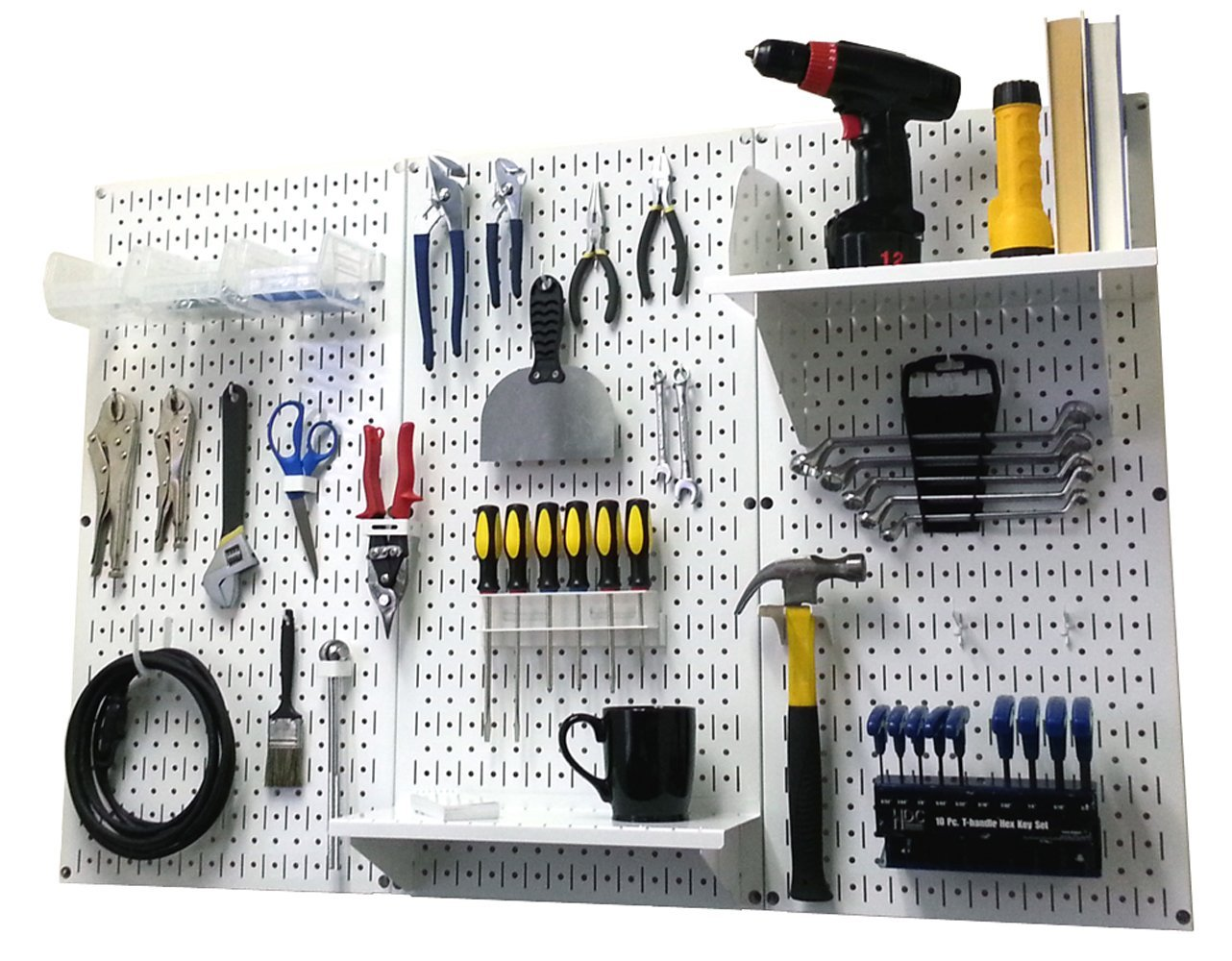 Wall Control Metal Pegboard Tool Organizer 87 99 Reg