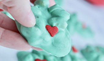 Crockpot Candy Dr. Seuss Grinch Cookies