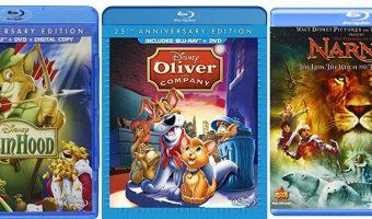 Select Disney Blu-Ray Movies As Low As $5.99 (reg. $13.99+)